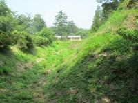 大胡城の本丸土塁